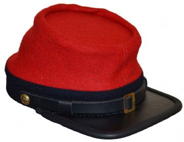 Confederate 1862 Regulation Artillery Kepi